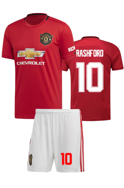 Форма детская ФК Манчестер Юнайтед 2019-20 home RASHFORD 10
