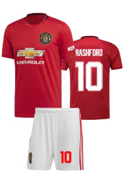 Форма взрослая ФК Манчестер Юнайтед 2019-20 home RASHFORD 10